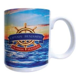 15 Oz. Full Color El Grande Ceramic Mug