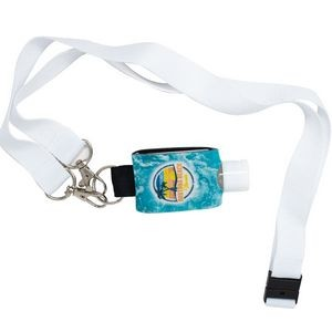 1 oz Sanitizer with Cover and Lanyard